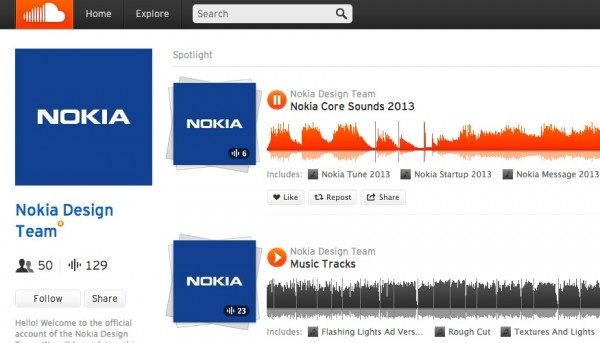 Nokia Sound Cloud