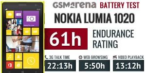 Lumia1020 battery