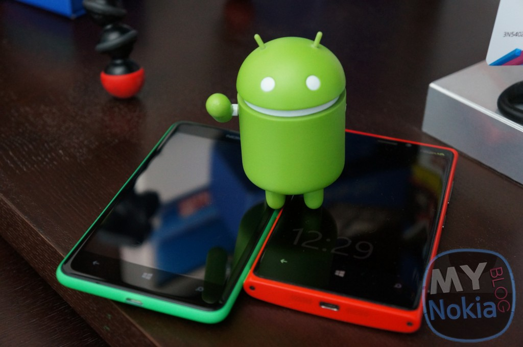Android Lumias