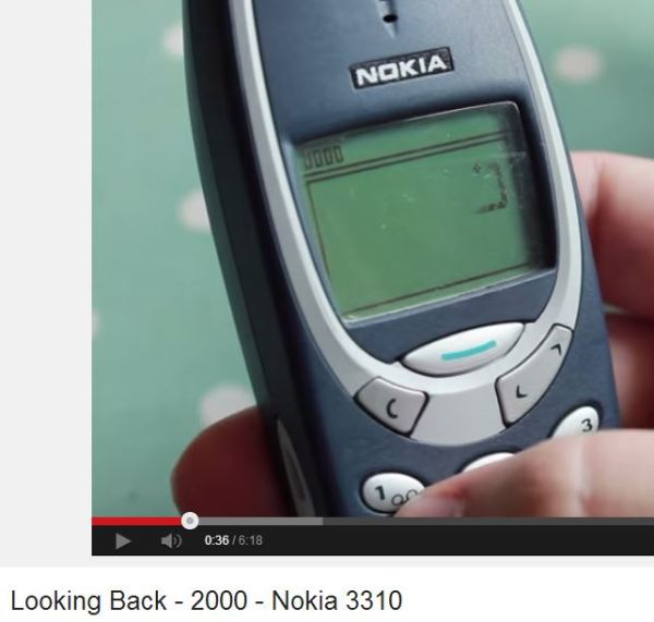 phonedog looks back 3310