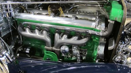 1929-37 Duesenberg Model J engine