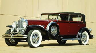 1929 Duesenberg Berline Convertible Sedan