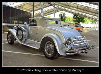 1929 Duesenberg J Convertible Coupe by Murphy