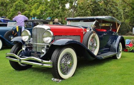 1929 Duesenberg J129 le Baron Dual Cowl Phaeton