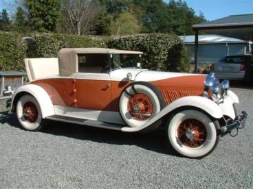 1930 Auburn roadster