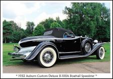1932 Auburn Custom Deluxe 8-100A Speedster 1