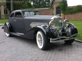 1932 Duesenberg Model Airflow Coupe.