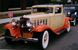 1932 Nash 1082R Ambassador Rumble Seat Coupe — Side view
