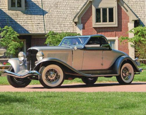1933 Auburn Salon Convertible Coupe