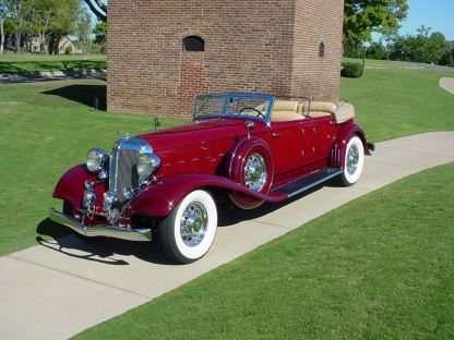 1933 Chrysler Imperial Dual Cowl Phaeton, body by LeBaron