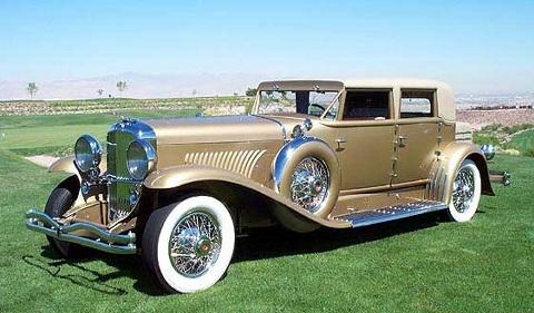 1934 Duesenberg J Murphy Custom Beverly