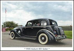 1935 Auburn 851 Sedan d