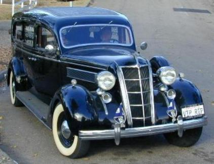 1935 Chrysler Three-Way Limousine Style Hearse by A.J. Miller