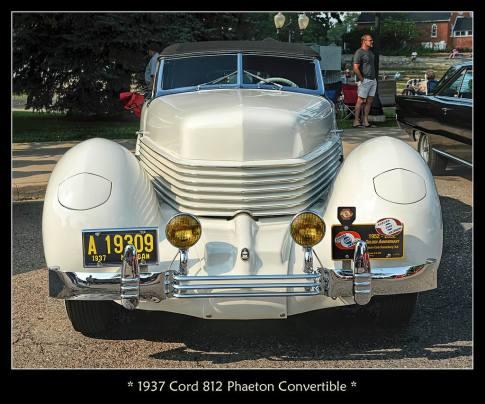 1937 Cord 812 Phaeton Convertible p