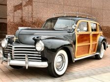 1941 Chrysler Town & Country Woody Station Wagon a