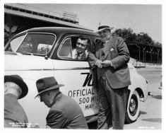 1947 Nash Indy 500 Pace Car Factory Photo Clark Gable ad9663-SYMSIN