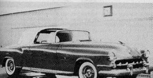 1954 Chrysler imperial landau victoria