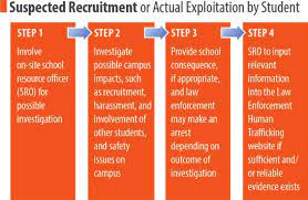 education and reporting  human trafficking