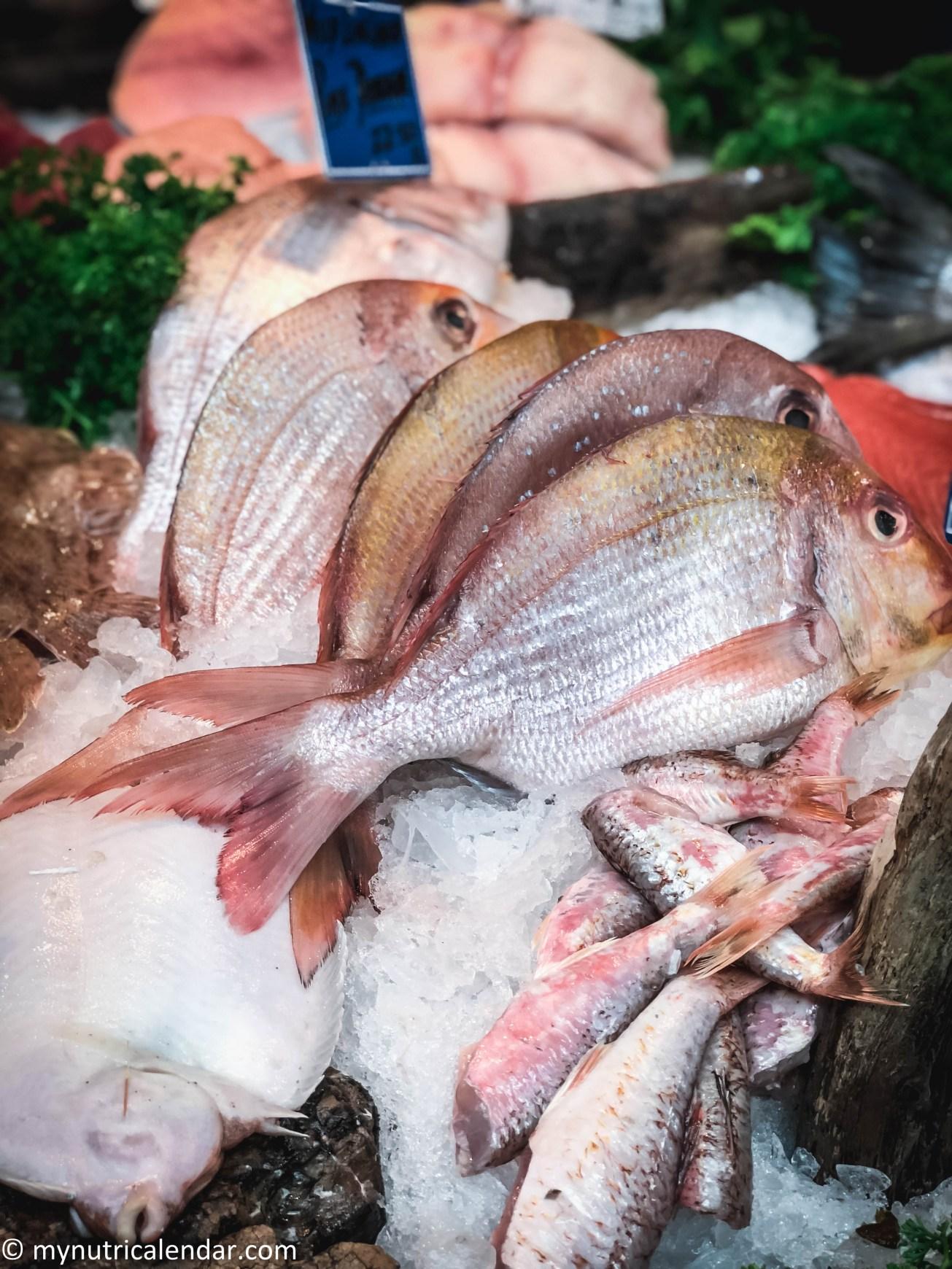 Borough Market London fish