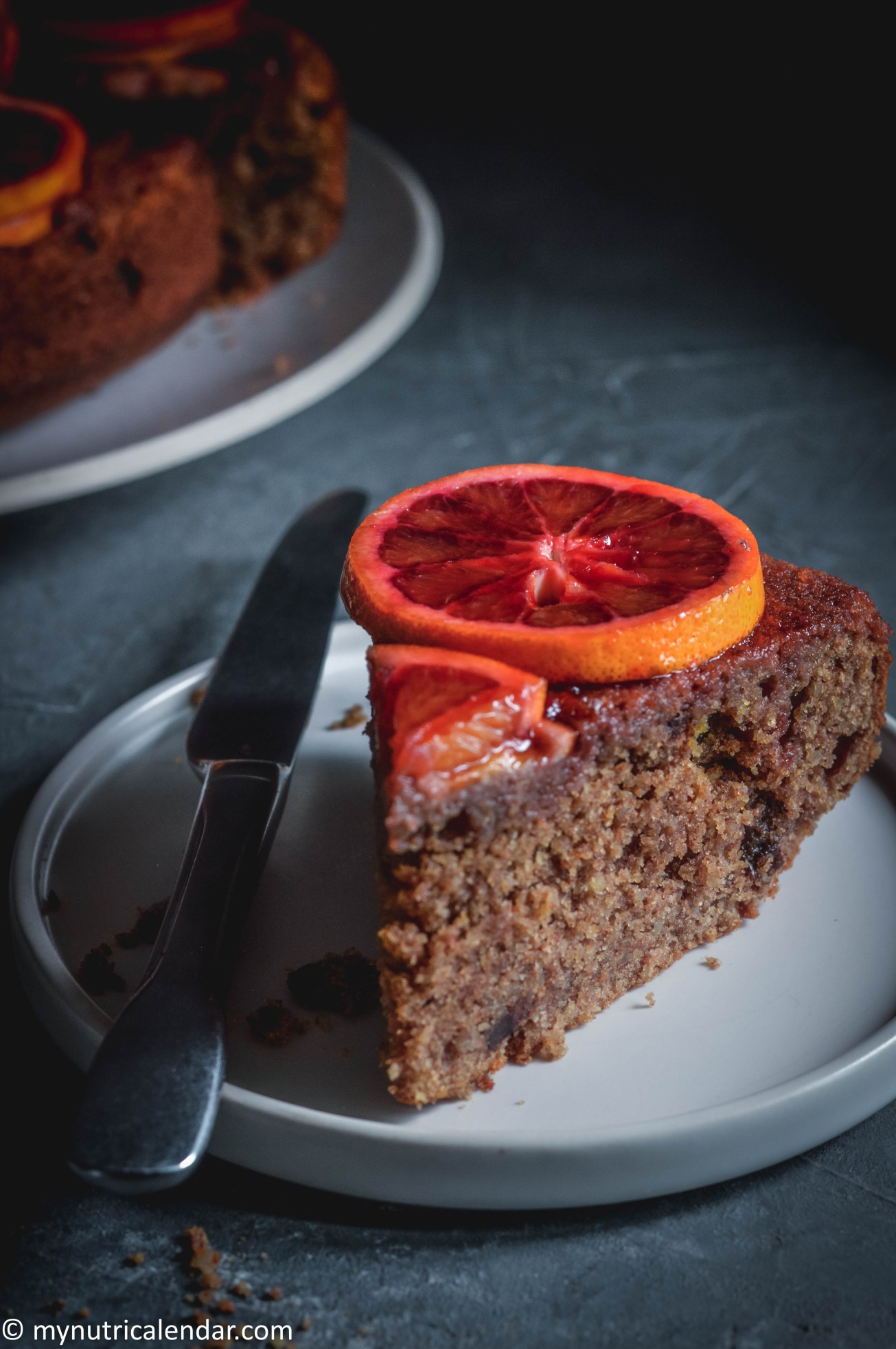 blood-orange-cake-chocolate-chips-raisins-no-sugar-10