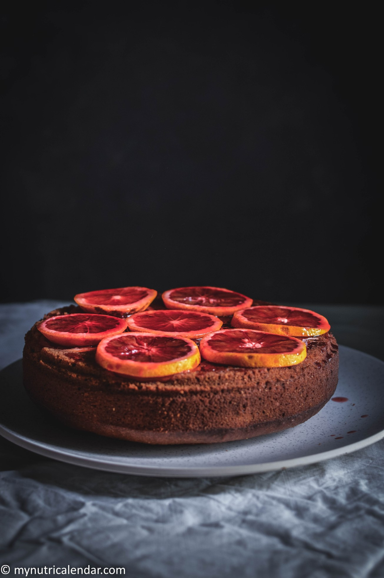blood-orange-cake-chocolate-chips-raisins-no-sugar-2