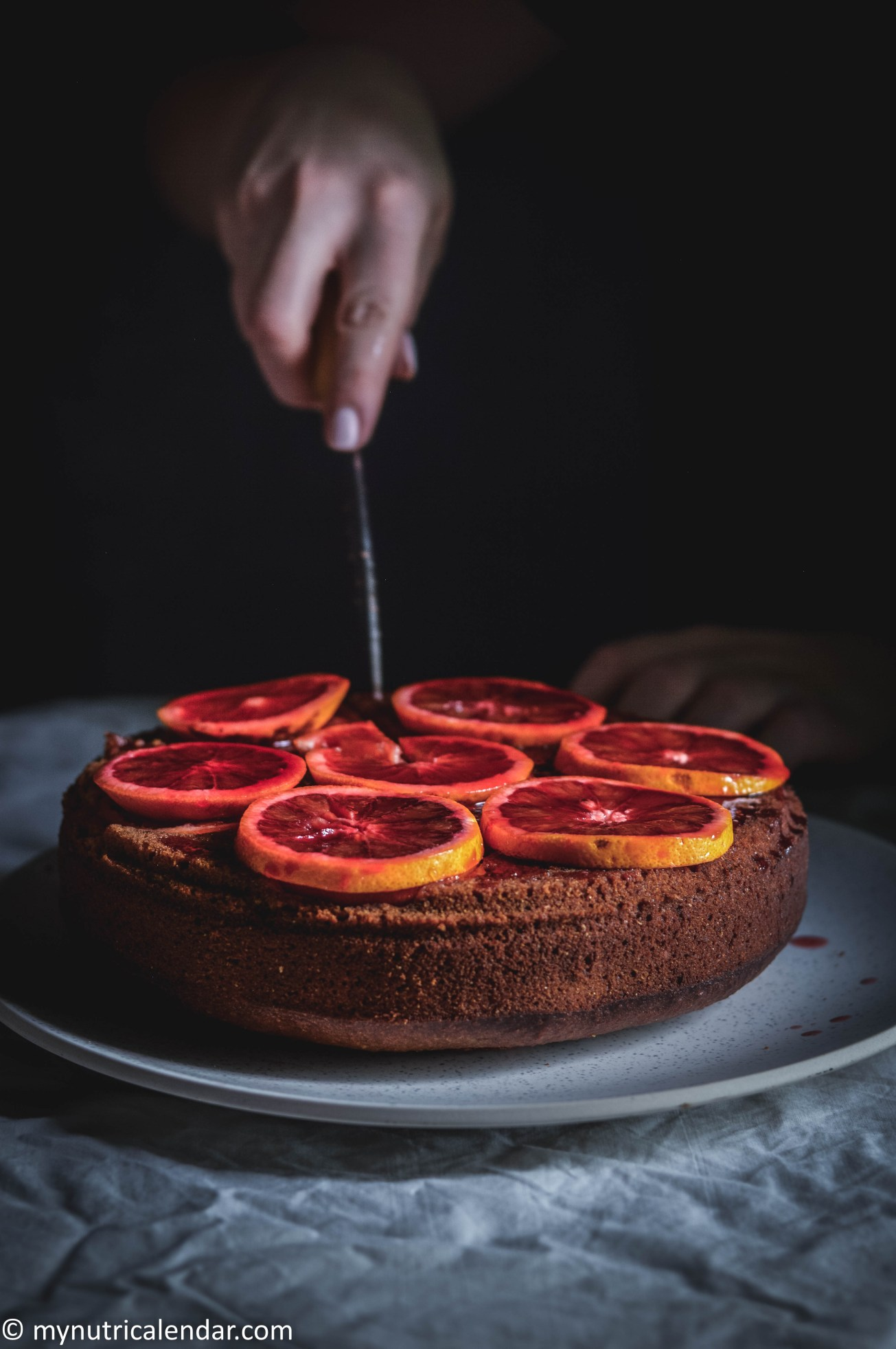 blood-orange-cake-chocolate-chips-raisins-no-sugar-5