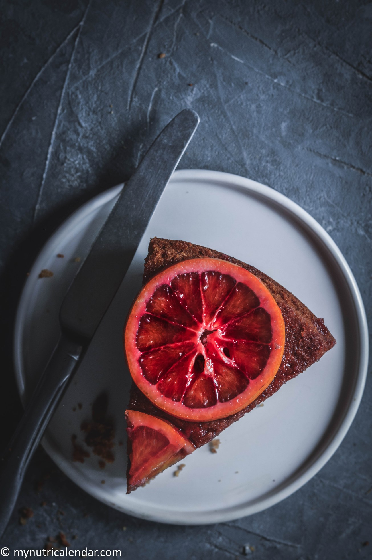 blood-orange-cake-chocolate-chips-raisins-no-sugar-9