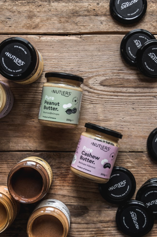 Product photography by Marialena Nikopoulou for The Nutlers