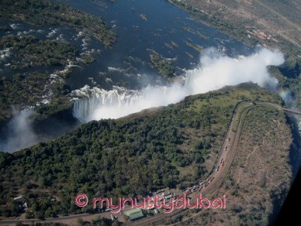Victoria Falls - Helicopter ride
