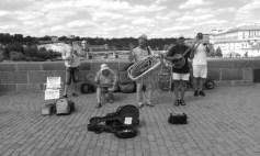 Music on Charles Bridge, Prague