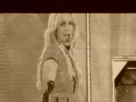 Music at concerts - Britney Spears