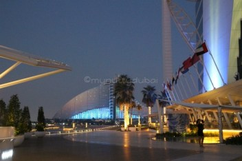 Looking at Jumeirah Beach Hotel