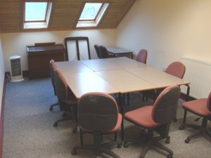 Meeting room from window