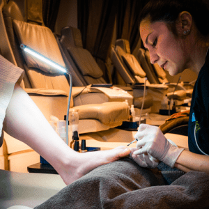 Calgary Spa Pedicure