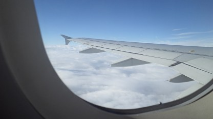 Flying to Germany