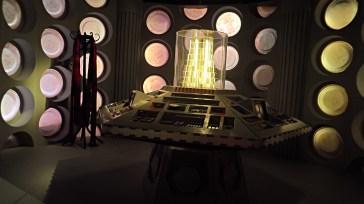 Retro interior of the TARDIS