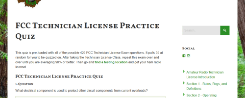 Ham Radio Technician License Questions Reset!