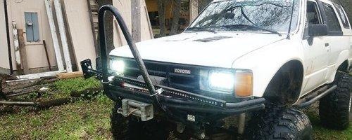 1st Gen 4Runner H4 Headlight Conversion