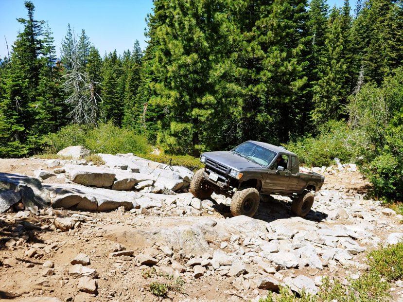 Granite on Signal Peak Trail