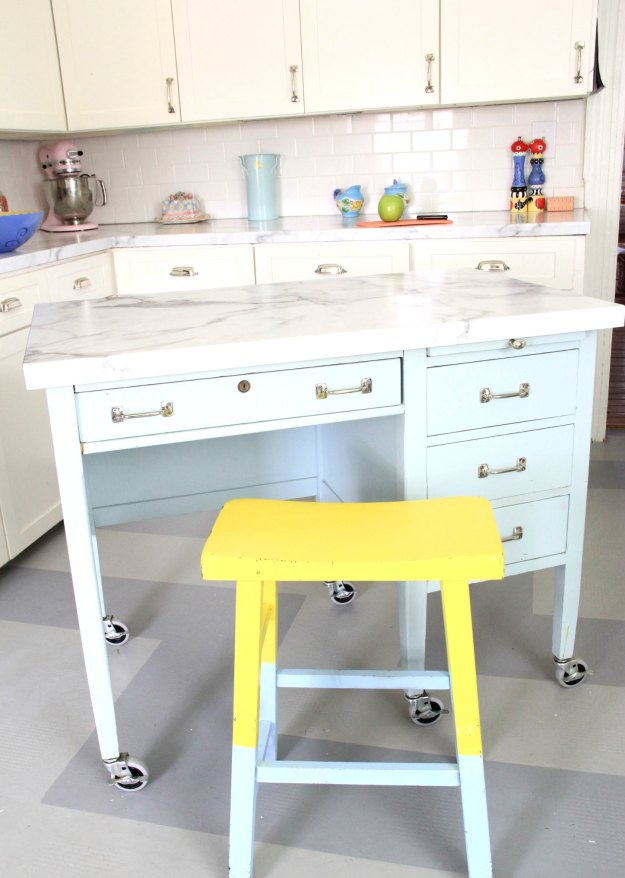 Monday Makeover Diy Kitchen Island
