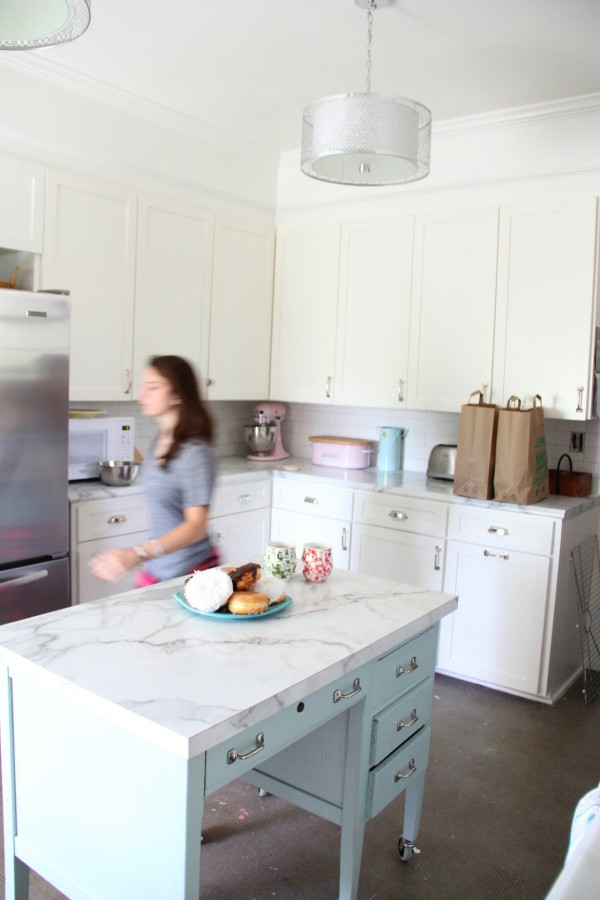 The Kitchen Makeover And Formica Marble Revisited