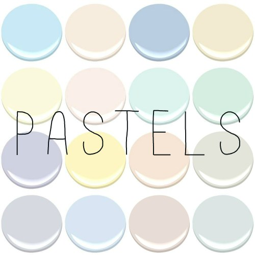 Pastel kitchens for Pastel teal paint