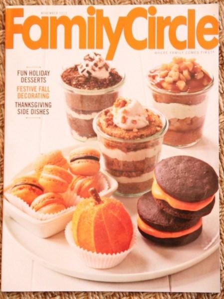 FAMILY CIRCLE FALL 2013