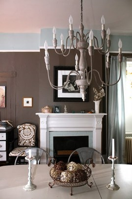 BENJAMIN MOORE FAIRVIEW TAUPE DINING ROOM