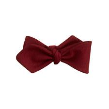 j crew burgundy bow tie