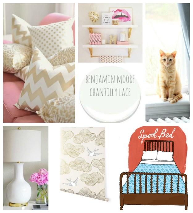 phoebe room collage