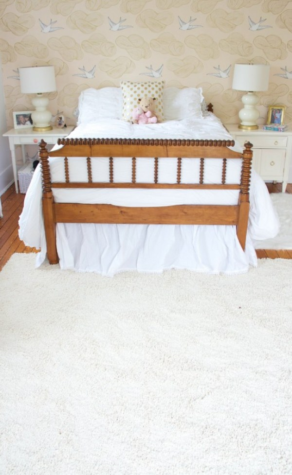 AND BACK TO BED - MOHAWK SHAG RUG - HOME DEPOT