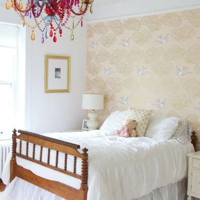 PHOEBE'S BIRTHDAY BEDROOM MAKEOVER WAS A PART OF THE ONE ROOM CHALLENGE