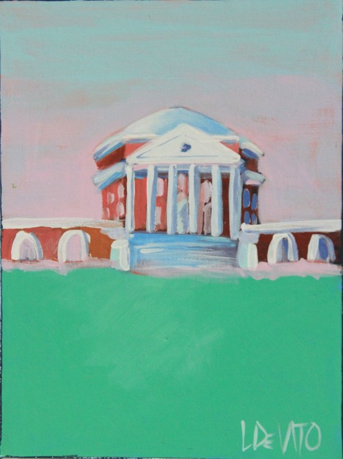 UVA ROTUNDA WAS BUILT IN 1822 AND COMPLETED IN 1826