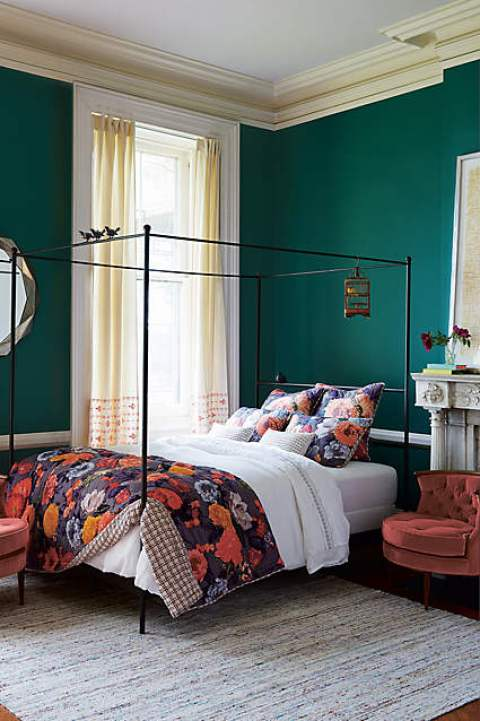 Color Trend Dark Greens